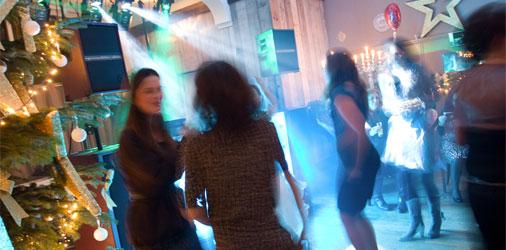 Bruiloft disco